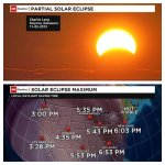 RT @IndraPetersons: Itll look like a chunk taken out of your sun at sunset in the NE! Partial #solareclipse tonight and viewing times. http://t.co/cRgPTGrLGZ