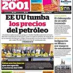 RT @ChuoTorrealba: SEGUN EL PROPIO GOBIERNO afectados por chinkungunya pasaron de 935 a 7.272 EN 1 SEMANA, un salto de 778%. Diario 2001 http://t.co/WRodqDzRCX