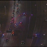 Serious crash on Beachline EB near the Turnpike. 2 lanes blocked, 1 gets by @MyFoxOrlando @Fox35Amy http://t.co/2Ba1waWniZ