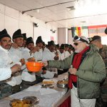 RT @PIB_India: PM Shri @narendramodi sharing sweets with Indian Army Jawans at Siachen Base Camp, on occasion of Diwali http://t.co/ELWJ63hhOS