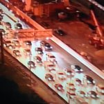 SR-836 WB is a parking lot right now! Chopper 6 over NW 27th Ave crash @nbc6 #traffic http://t.co/wvFV30E76e