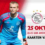 Voor #Ajax - Go Ahead Eagles kun je 4 tickets per Club Card bestellen. Meer info: http://t.co/Sw3LyKMjfF #ajagae