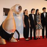 ミギー、お洒落してるね...... #tiff #東京国際映画祭 http://t.co/Uwc3dJL5gV http://t.co/l8QJGBOFIH