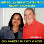 Quem conhece o Lula, vota Aécio! #VamosVencer45 http://t.co/wUhAVPghJj