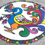 #HappyDiwali to all those around the globe and this the #Rangoli makes you to feel it @IndiaPhotos http://t.co/E1bIIi6ovn
