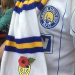 The ONLY time I allow anything RED near my #LUFC shirt! Dont forget to buy your poppy. @poppypride1 @PoppyLegion http://t.co/BZCZrAM0lv