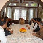 Various groups calling on PM Shri @narendramodi at Raj Bhawan at Srinagar http://t.co/6ykcmPiDg5