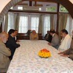 RT @PMOIndia: In J&K the PM met a PDP delegation. http://t.co/vivQ9JVqPn
