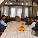 RT @PMOIndia: NC delegation meeting PM @narendramodi. http://t.co/NGeqB8z7Kk