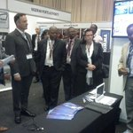Kenya Ports Authority exhibition booth at the ongoing 12th Inter-modal Conference in South Africa. @kmakenya http://t.co/UBGi1mXjpT