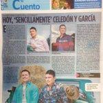 RT @Intervallenato: Sencillamente Jorge Celedón nuevo álbum de @Jorgitoceledon y @tavogarciat salió al mercado y es noticia en Al Dia http://t.co/abifRZZ5Bq