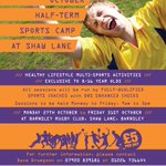 RT @BarnsleyC4L: Half term activities with @ActiveBarnsley next week for 8-16 year olds! See pic for details #BarnsleyIsBrill http://t.co/svqWisVK23