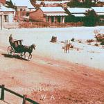 #LEEDERVILLE AS YOU MAY NEVER HAVE SEEN IT, 1900 - Workers Accommodation, horsencart. #Perth @CityofVincent @RTRFM http://t.co/O3zqczOHSF