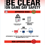 Coming to the #Broncos game tonight? Dont leave home without your clear bag. #SDvsDEN http://t.co/QiQLsoMGMU