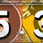 """@NHLonNBCSports: ICYMI: 5-3 on Wednesday Night Rivalry #RivalryNight http://t.co/YVgxuU2ixC"" @cellabeth9 aweeee ????????"
