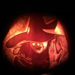 Halloween means pumpkin carving to me. My @WickedUK pumpkin frm 2012 still my favourite. What should I try this year? http://t.co/RbJGuaP62F