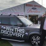 RT @KimmyLouBennett: @hunterlandrover at Showmans Show Newbury. #discovery #holeinone #showmansshow #southampton #landrover http://t.co/tvhbIPhsZ9
