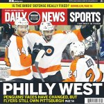 "#Flyers on back page of todays @PhillyDailyNews. In your best Denis Lemieux voice: ""Who owns da Penguins? Ownnzzz!"" http://t.co/sD8IeKDdWa"