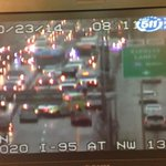 ALL EXPRESS LANES CLOSED I-95 SB at NW 135th St. #Traffic #Miami http://t.co/qg9pJkuaUN