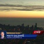 Heres a cool shot of the #Milwaukee skyline from @ChopperMatt in #NewsChopper12! @WISN12News http://t.co/D6wec5WDgJ