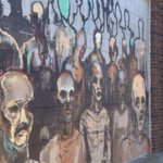 Another #smallspaces piece bites the dust: Zombie street painting covered up http://t.co/EVJh6WGtNX via @JCOnline http://t.co/jAvUlyQksS