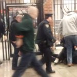 RT @DNAinfo: VIDEO: NYPD officer kicks colleague in the head during arrest http://t.co/Fw2b90aglT http://t.co/AauX85pZkF