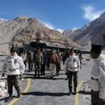 """""""Be it the altitude or bitter cold, nothing deters our soldiers. They stand there, serving our Nation"""" @narendramodi http://t.co/5u9rMl2PXS"""