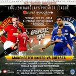 Nonbar W/ @CISCbandung : United vs Chelsea | Paskal Hyper Square | Sgl Pertanyaan lgsg ke CP di Poster. @infobandung http://t.co/O7KjqbNTAp