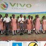 RT @VivoEnergyUg: Kitante Primary School on stage #ChildRoadSafety @UrbanTVUganda @newvisionwire @bukeddeonline @Ougasam http://t.co/9uo8M5r838
