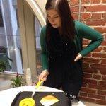 "Starting off the rainy morning right! RT ""@cassapedia: Pancake day at @SliceComm http://t.co/s8IeXEkqVu"""