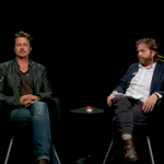 Brad Pitt & Zach Galifianakis chat Between Two Ferns about acting, charity work & handsomeness http://t.co/7NzwyLsECj http://t.co/zSzMeGjoDK
