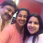 #Sangeethavijay latest Selfie With @realradikaa and #Prabhu http://t.co/meA3zc9Tpx