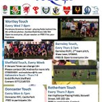 Touch Thursdays - tonight at Shaw Lane Sports Club. #barnsleyisbrill http://t.co/8XiooPl8Wi