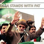 RT @PATofficialPK: I will get the freedom for the poor and struggle for the dignity of this nation. #TuQ #HazaraStandsWithPAT http://t.co/MsKPvaA59L