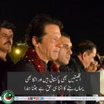 RT @mwazshah: Chairman Imran Khan promises to fulfill Quaid-e-Azams promise to Minorities #GoNawazGo http://t.co/W8gBQBAywU