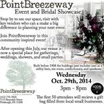 Join us next week at the @PointBreezeway Event & Bridal Showcase! #pittsburghweddings #weddingplanning #pittsburgh http://t.co/aNrkaBAhjF