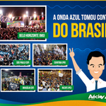 RT @Rede45: Ontem o Brasil foi às ruas para gritar o nome de Aécio! A Onda Azul vai tomar conta do Brasil! #Aecio45PeloBrasil http://t.co/bjzHLIjwQ1