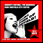 Interested in getting involved in womens football? Get in touch to join our £1 training sessions! #SheffieldIsSuper http://t.co/nX7P312czR