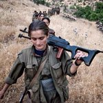 Incredible Kurdish female fighters against ISIS teaching us all the levels of badassery thats possible. STRONG women. http://t.co/qc6mwsh8bN