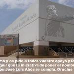 RT @jlortizbasket: Me sumo y os pido vuestro apoyo y RT para #pabellónjoséluisabós Gracias https://t.co/dzY2k127jy Foto:Carlos Guillén http://t.co/0ttQ15IAUq