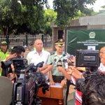 Alc @FredysSocarrasR y Cr Rodriguez entregan rueda de prensa sobre capturas q esclarecen Homicidios @Asocapitales http://t.co/Frg8dR13Sb