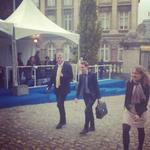 Podpredsednik @MilanZver se v Bruslju pravkar udeležuje vrha @EPP, ki poteka pred današnjim zasedanjem #EUCO. http://t.co/hNwUG4XB6G