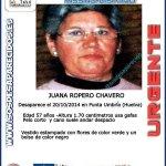 RT @guardiacivil: #Colabora y RT. Buscamos a Juana, #desaparecida en Punta Umbría #Huelva Si la ves llama 062 #Gracias http://t.co/NO7CldPY3C
