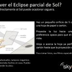 Vía @SkyAlertMx: Hoy por la tarde es el Eclipse parcial de Sol. - No mirar directamente al Sol - https://t.co/onZr0RxKUo