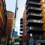 RT @TerryGeorge: Ken Bates finally moves out of his Leeds penthouse apartment, but causes havoc to neighbours using a 40m crane #lufc http://t.co/aXnVgkfMZx