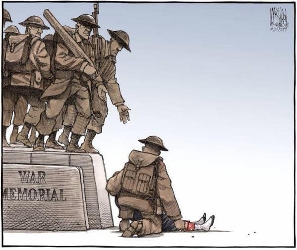 Wow.... the emotions that over take you through this powerful drawing #CanadaStrong http://t.co/VwJJAC99IC
