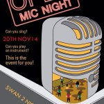 RT @SwanwithTwoNick: Next open mic and acoustic night will take place on 20th November #livemusic #worcester @SwanwithTwoNick http://t.co/czqo1jg8fM