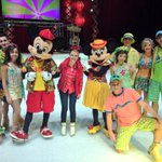 Thank you everyone!!! #DisneyOnIce #liveonk2 #bestday http://t.co/XJUWn8oWhc
