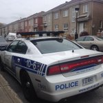 Police parked outside Montreal home of Michael Zehaf-Bibeaus mother, Susan Bibeau. #cbcmtl http://t.co/QfTUgtV71P