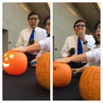 RT @dougmeehan: Playing with exploding pumpkins on the plaza. @JamesQuinones @MissScienceAZ @12News http://t.co/GTgnLYyl9O